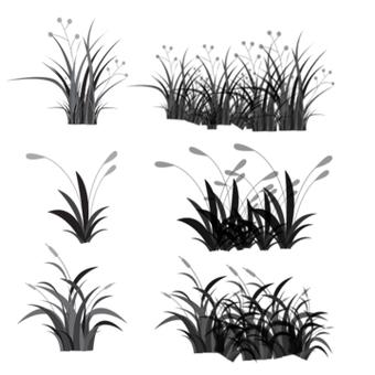 Plant brush set