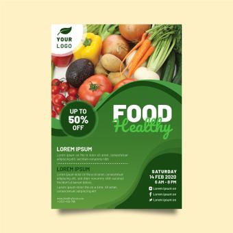 健康食品海報