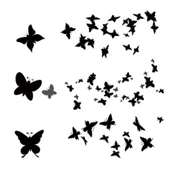 Butterfly brush set