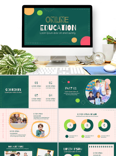 Online Education Power Point