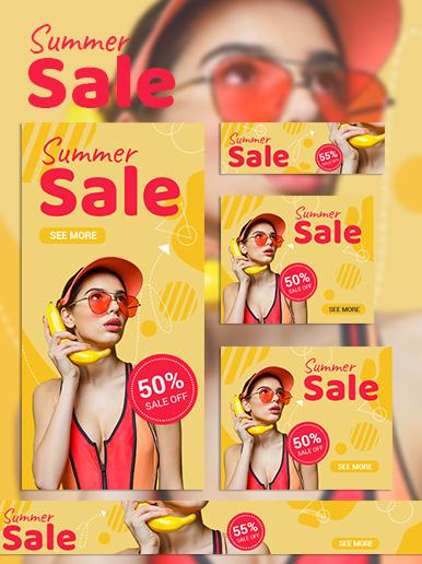 Sommer Sale Web Banner