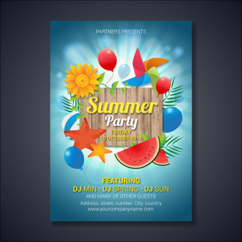 Poster / Summer Party