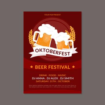 慕尼黑啤酒节海报