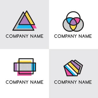 Company logo Colorful