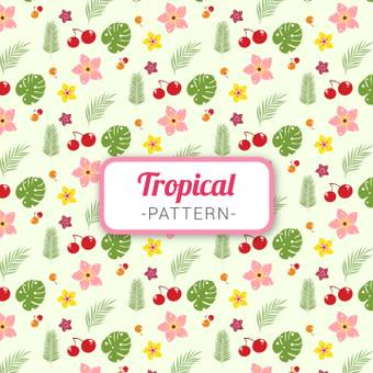 Tropical pattern