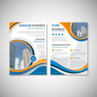 Panfleto de negócios
