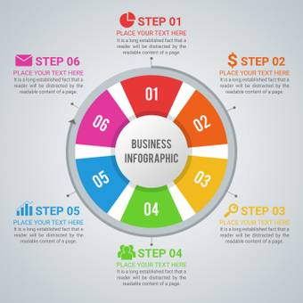 Step infograph