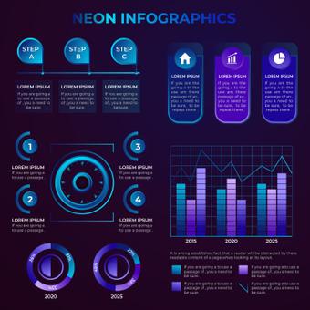 Neon graphics