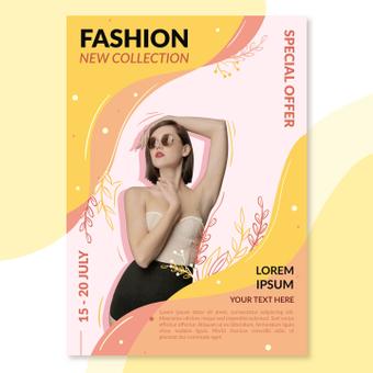 Cartel de la moda