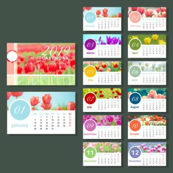 鬱金香日曆