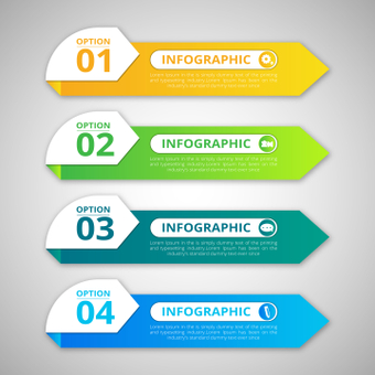 Colorful infographic