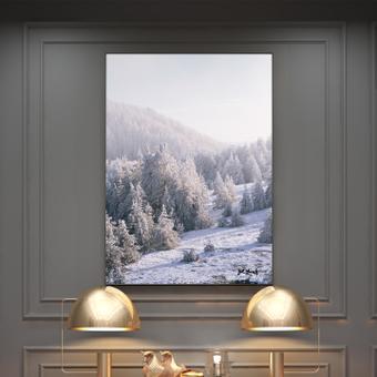 模擬·雪景
