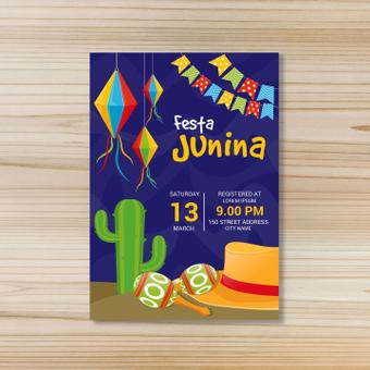Poster · Festa Junina