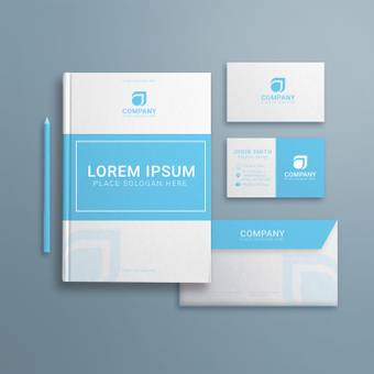 Corporate business cards · envelopes · brochures