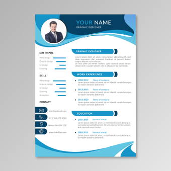 Color resume