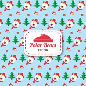 Polar bear pattern