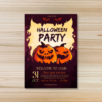 Poster · Halloween party