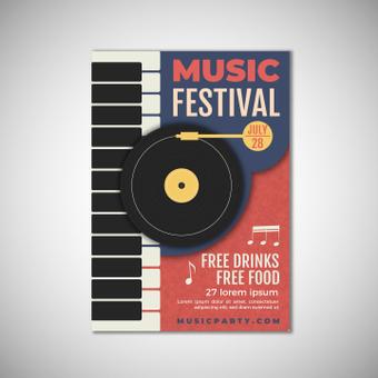 Poster music festival