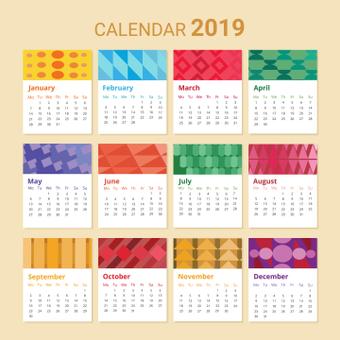 Shape Calendar