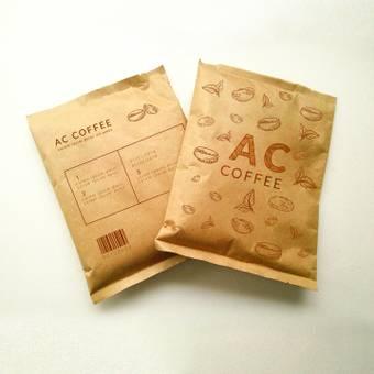 一個裝有咖啡豆的袋子