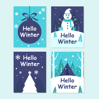 Зимняя открытка