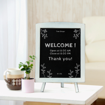 Mock-up · Welcome Board