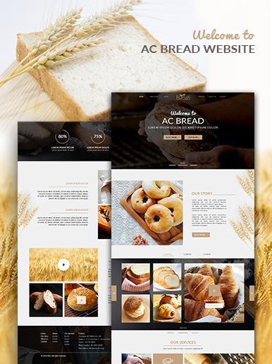 Plantilla web de negocios