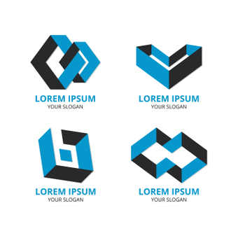 Three-dimensional logo design