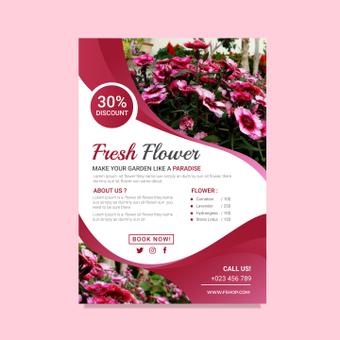 Volantino fiore