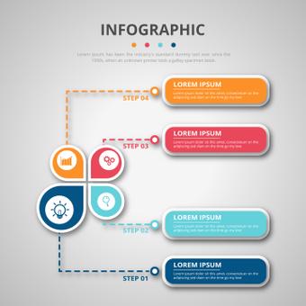 業務信息圖表