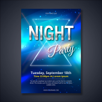 Poster / Night Party