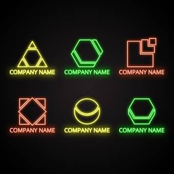 Corporate logo neon