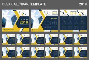 Skyscraper calendar