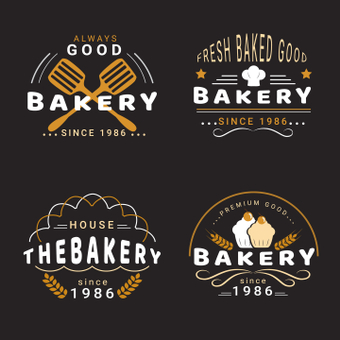 麵包店徽標
