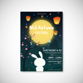 Poster Mid Autumn Festival