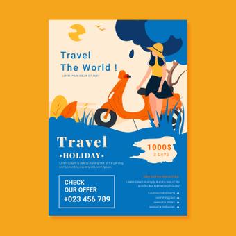 Cartel de viaje