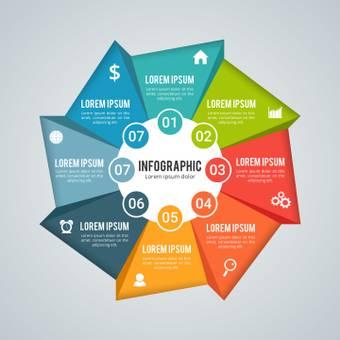 비즈니스 인포메이션 그래픽