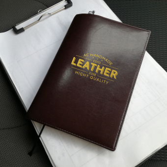 Mock-up · Leather