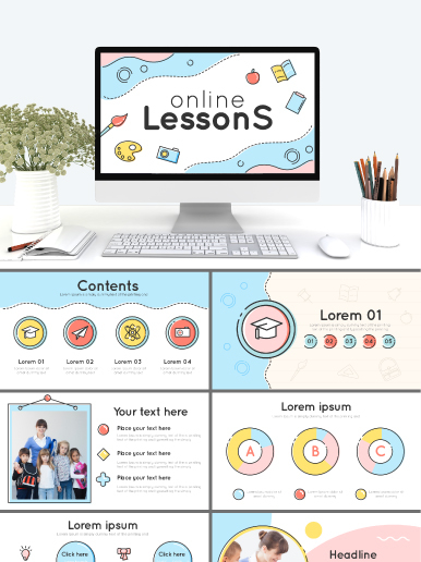 Online Lessons PowerPoint