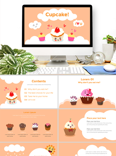 Cupcake Power Point