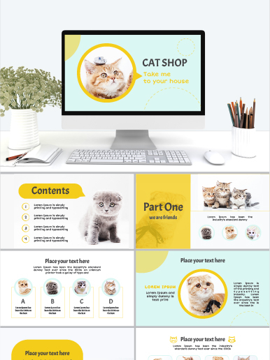 Cat Shop Powerpoint