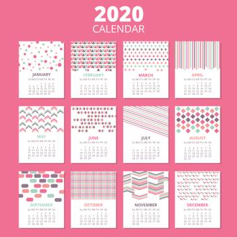 2020年日曆