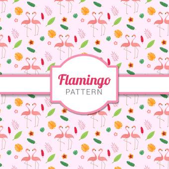 Flamingo pattern