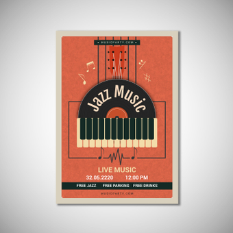 Poster jazz music