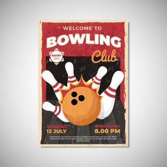 海报保龄球俱乐部