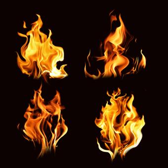 Набор кистей Flame